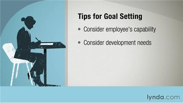 Developing the right goals: Performance Review Fundamentals