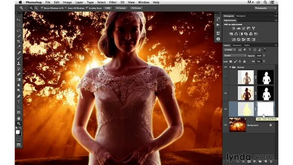 Adding a glow effect: Portrait Project: Changing a Background for Dramatic Effect