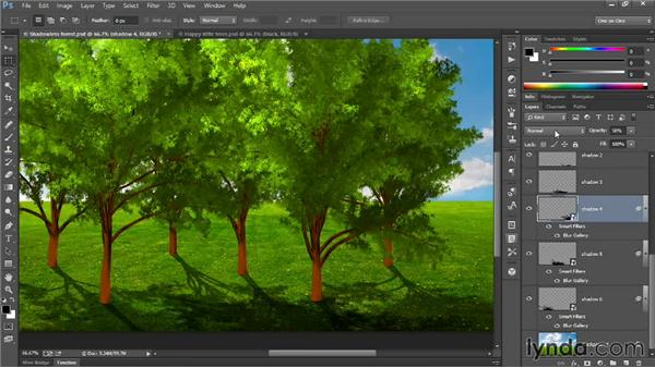 291 Shading and lighting the happy forest: Deke's Techniques
