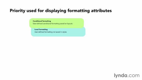 Understanding how FileMaker displays formatting: FileMaker 13 New Features