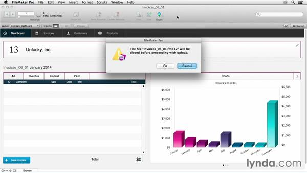 Uploading files to FileMaker Server: FileMaker 13 New Features