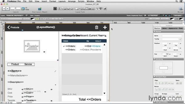 Exploring the OnLayoutSizeChange script trigger: FileMaker 13 New Features