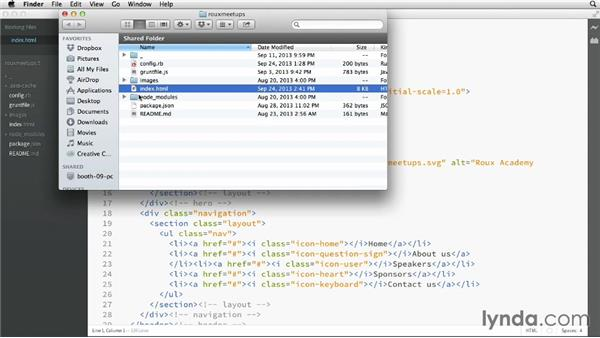Working with files: Adobe Edge Code and Brackets: First Look