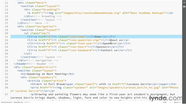 Using the editor: Adobe Edge Code and Brackets: First Look