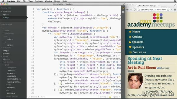 Customizing the interface: Adobe Edge Code and Brackets: First Look