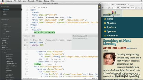 Working with Quick Edit: Adobe Edge Code and Brackets: First Look