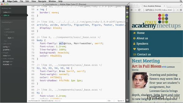 Adding custom fonts: Adobe Edge Code and Brackets: First Look