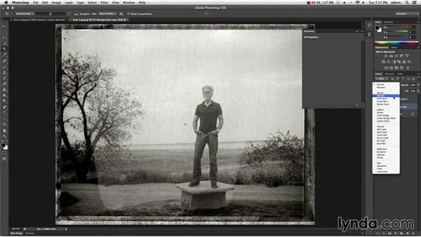 Scanning polaroid negatives and processing in Photoshop: The Practicing Photographer