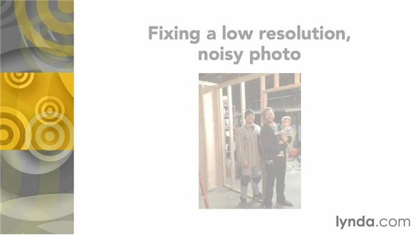 Challenge: Fixing a low-resolution, noisy photo: Noise Reduction and Sharpening in Lightroom and Photoshop