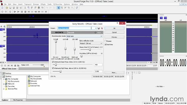 """Adding Sound Forge audio as a Vegas event """"take"""": Sony Vegas Production Workflow"""