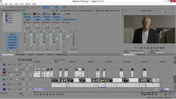 Polishing the final mix in Sound Forge: Sony Vegas Production Workflow
