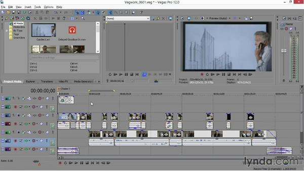 Adding scene markers to your timeline: Sony Vegas Production Workflow