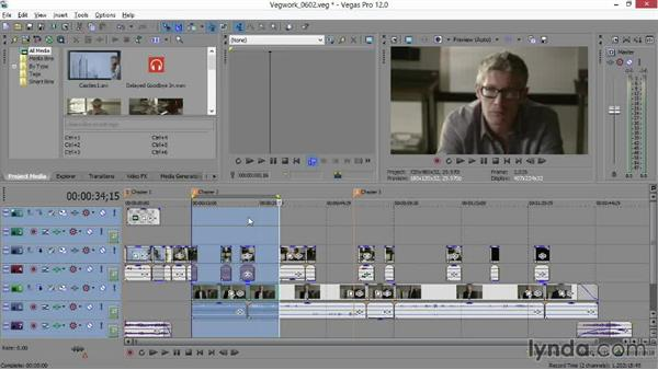 Outputting a loop region only: Sony Vegas Production Workflow