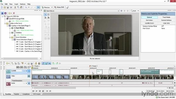 Adding optional subtitles to your video: Sony Vegas Production Workflow