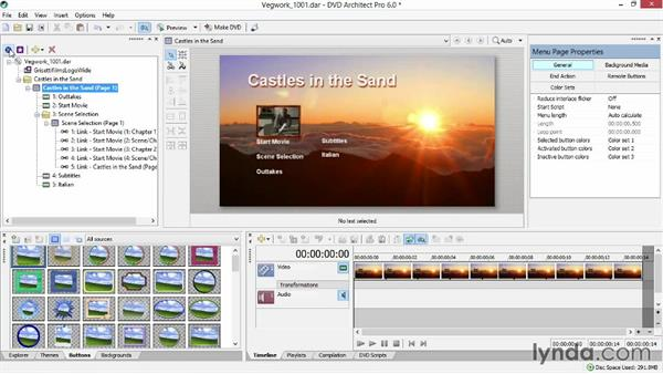 Previewing your disc: Sony Vegas Production Workflow
