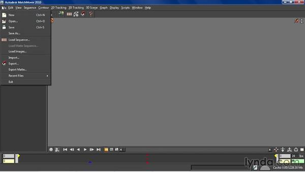 Exercise files: Entertainment Creation Suite: Getting Started with MatchMover