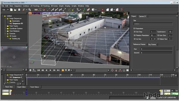 Object-based tracking: Entertainment Creation Suite: Getting Started with MatchMover