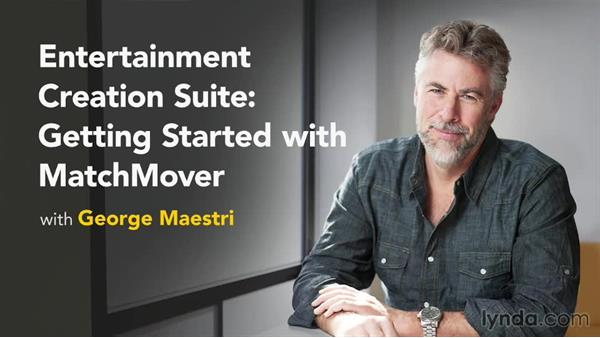: Entertainment Creation Suite: Getting Started with MatchMover