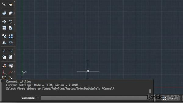 Command line overview: Up and Running with AutoCAD for Mac