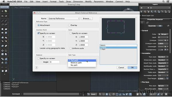 Understanding external references: Up and Running with AutoCAD for Mac