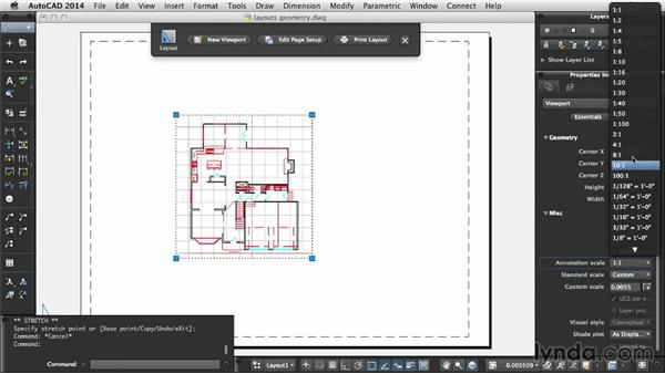 Understanding paper space and model space: Up and Running with AutoCAD for Mac
