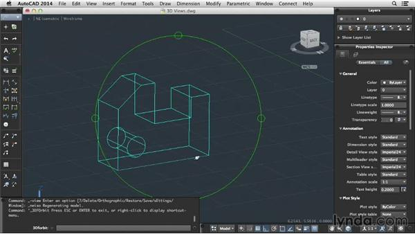 Views in 3D: Up and Running with AutoCAD for Mac
