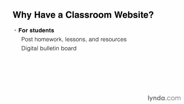 Free website platforms: Teacher Tips