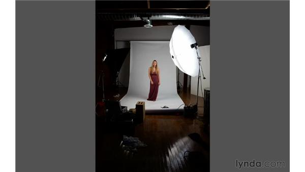 Quick overview of the project: Portrait Project: Changing a Studio Background