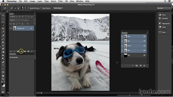 Working with nondestructive tools: Photoshop Color Correction: Advanced