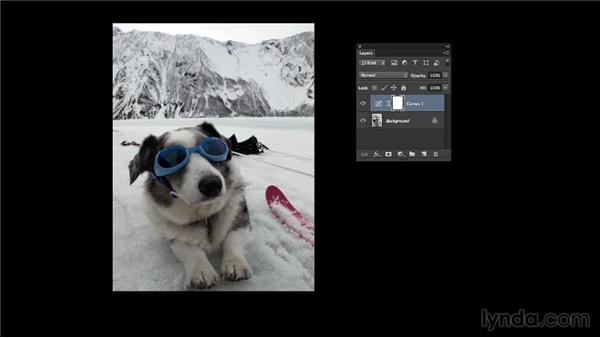 Setting the screen layout mode: Photoshop Color Correction: Advanced
