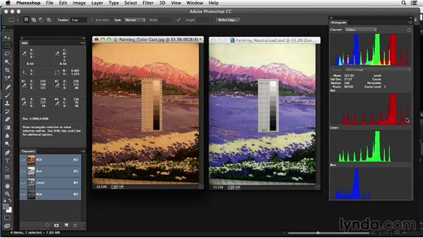 Working with neutrals for color correction: Photoshop Color Correction: Advanced