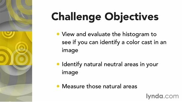 Challenge: Finding and measuring neutrals: Photoshop Color Correction: Advanced