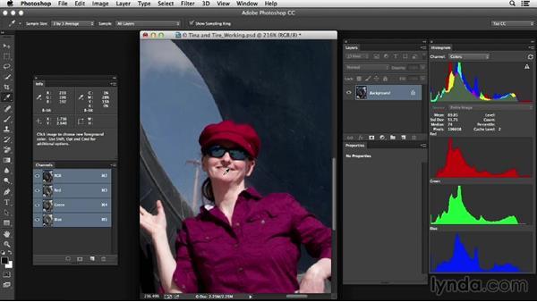 Solution: Color cast identification: Photoshop Color Correction: Advanced