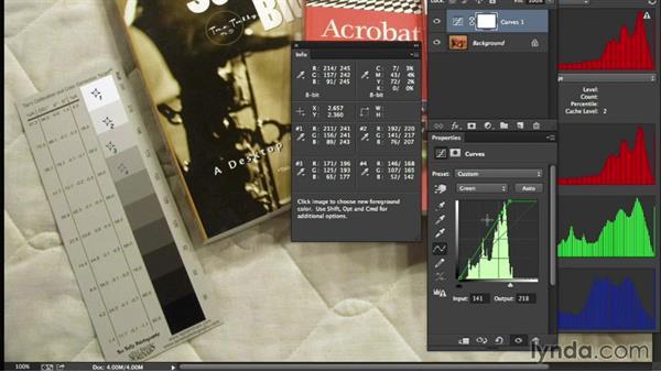 Performing super-critical target-based adjustments: Photoshop Color Correction: Advanced
