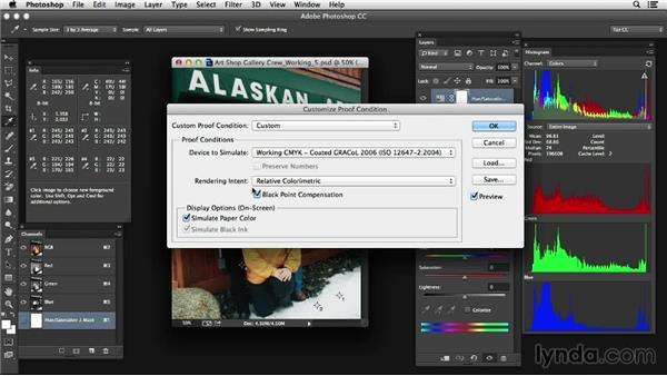 Soft proofing: Photoshop Color Correction: Advanced