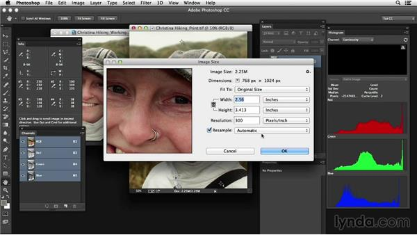 Choosing the best file formats for color correction: Photoshop Color Correction: Advanced