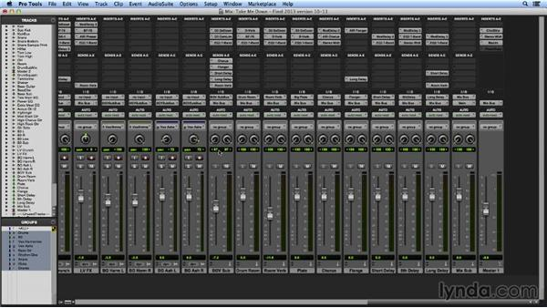 Working with advanced metering options: Pro Tools Mixing and Mastering