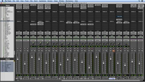 Advanced Offline Bounce workflows: Pro Tools Mixing and Mastering