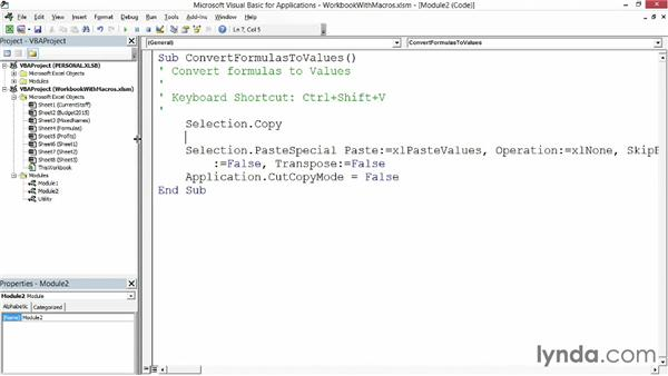 Visual Basic For Applications Excel 2013 MS Excel 2013 Open the