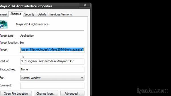 Applying a Maya interface style in Windows: Maya Tips and Tricks