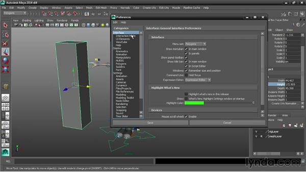 Choosing working units for the current scene: Maya Tips and Tricks
