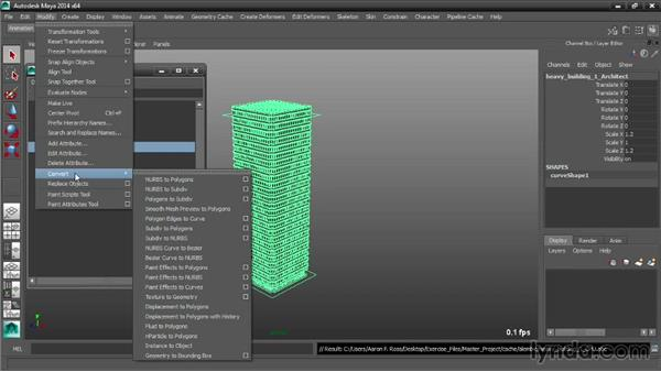 Saving a bounding box representation: Maya Tips and Tricks