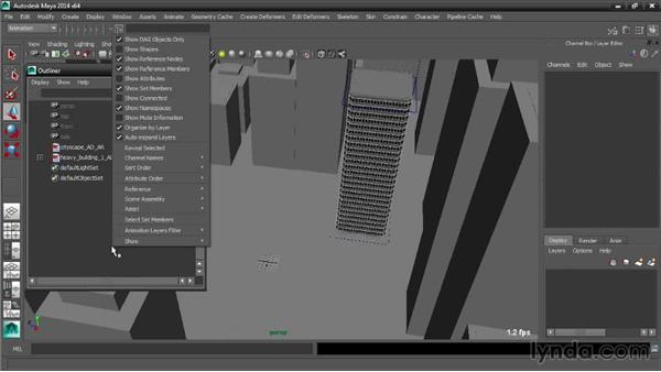 Populating a master scene with assembly references: Maya Tips and Tricks
