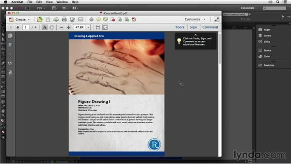Printing and exporting directly to PDF: InDesign Insider Training: Data Merge and Database Publishing