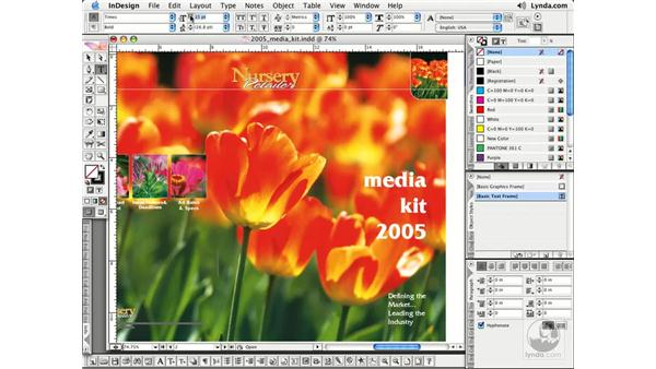 Working with Palettes: InDesign CS2 Essential Training