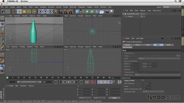 Welcome: Primitive and Spline Modeling in CINEMA 4D
