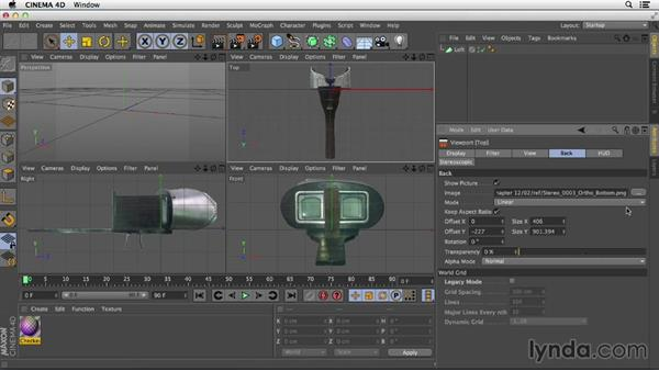 Using the exercise files: Primitive and Spline Modeling in CINEMA 4D