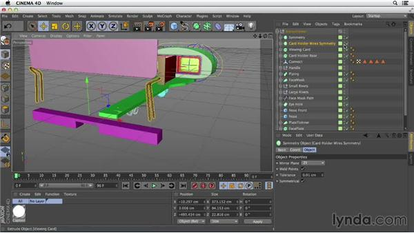 Complex objects are made of pieces and shapes: Primitive and Spline Modeling in CINEMA 4D