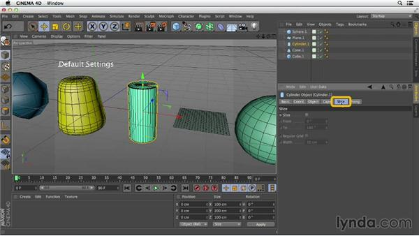 Getting more out of your primitives: Primitive and Spline Modeling in CINEMA 4D