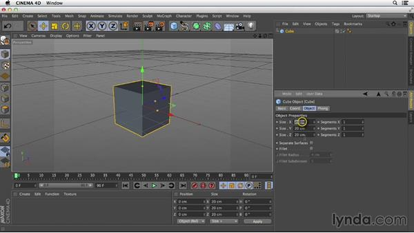 Ensuring components have the proper scale: Primitive and Spline Modeling in CINEMA 4D